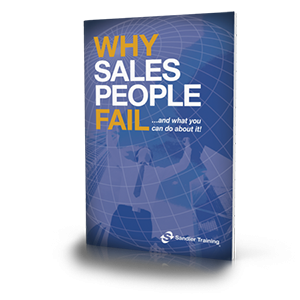 Why Salespeople Fail. . . And What You Can Do About It