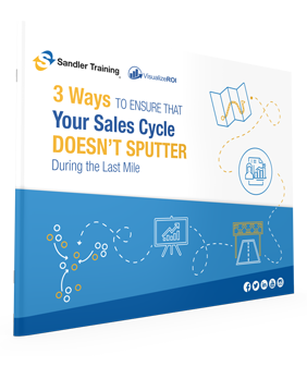 Free Report: 3 Ways To Ensure Your Sales Cycle Doesn't Sputter During the Last Mile